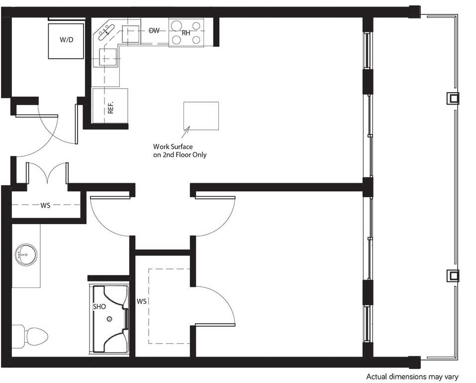 layout suite B2 shiraz gardens